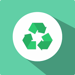 FLAT Renewable Energy - R Brand Icon