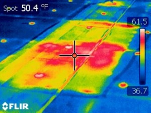 Infrared Roof View