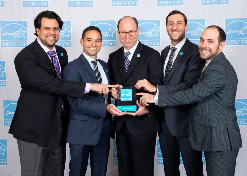 EDGE Energy team accepting Energy Star Award
