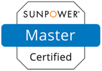 SunPower Master certified logo