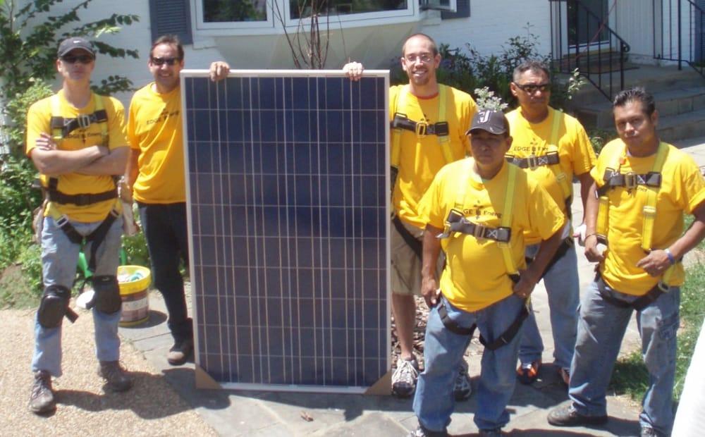Diverse Solar workforce