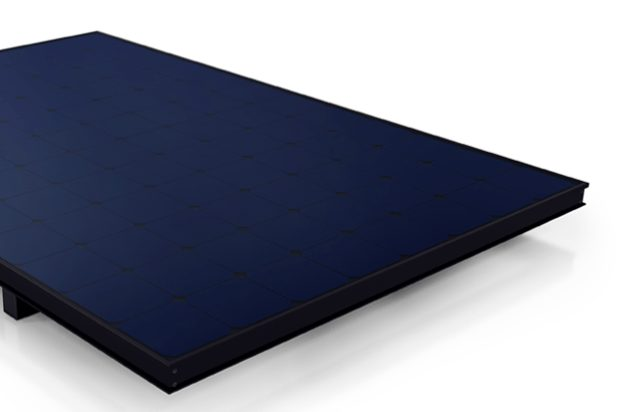 Sunpower black solar panel