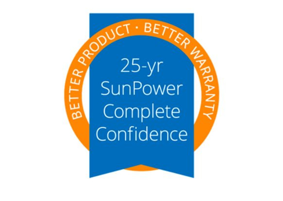 Sunpower warranty logo