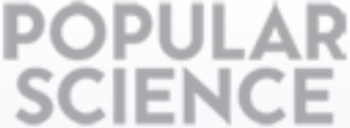 popular science logo gray