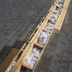 2 of 2 insulating an attic from the roof side